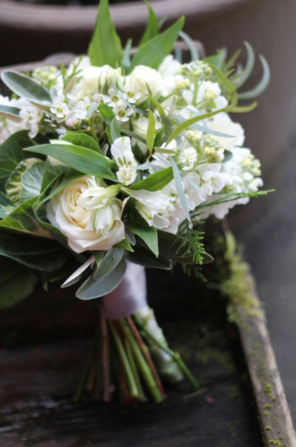 ceci bridesmaid bouquet