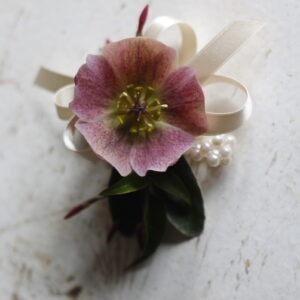 PBF wedding flower wrist corsage