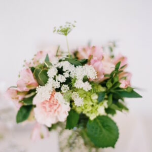 aisle flowers for the table