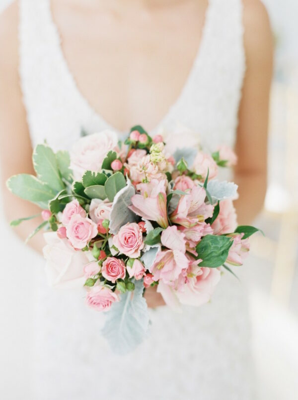 anna pink brides bouquet
