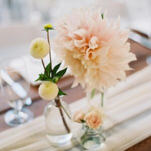 medium apothecary flower vase